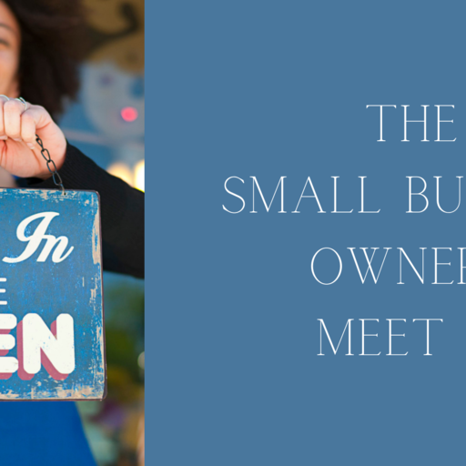 The small business owners meet up
